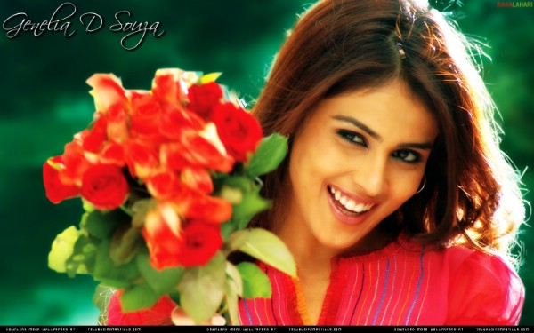 genelia d souza wallpapers. Genelia D#39;souza is bright