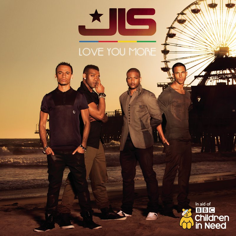 "At the top is JLS, scoring their fourth #1 hit with ""Love You More,"" a"