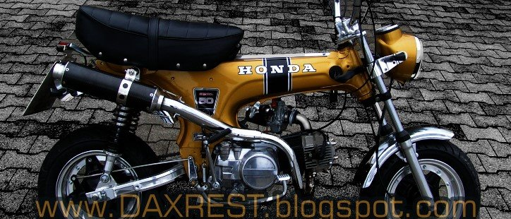 Honda Dax Restauration