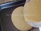 Prajitura cu gris si portocale preparare reteta