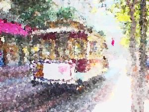 Imagickで絵画調に変換した画像