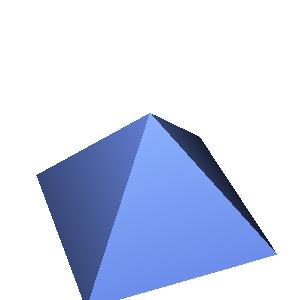 JOGLで描画したピラミッド
