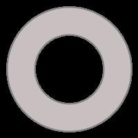 GfxBuilderで描画したドーナツ型