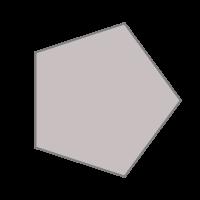 GfxBuilderで描画した正多角形