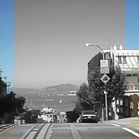 ImageMagickで一部だけグレースケールにした画像
