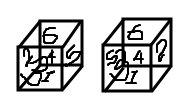 NORMAL VARIANTS settings of DICE numbering...!