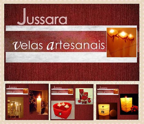 """JUSSARA VELAS ARTESANAIS"""