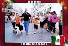EN EL DESFILE DEL 21 DE MAYO
