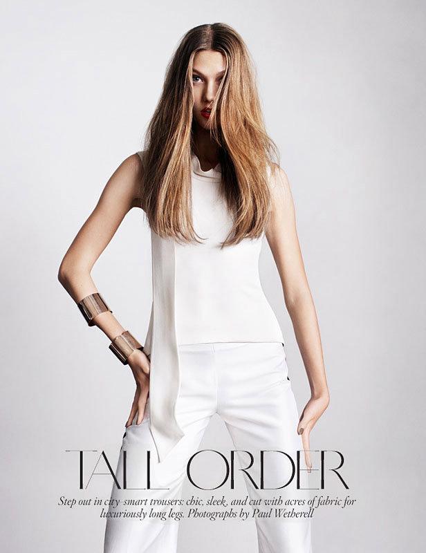 Karlie Kloss Vogue 2012