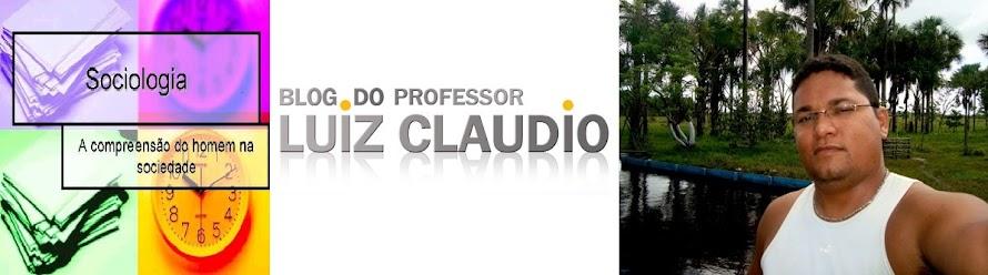 Sociologia do Claudio