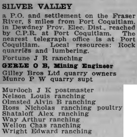 Silver Valley 1920
