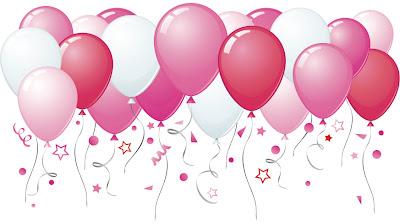 """كل سنة وانتي طيبة يا """"بسمة أيمن"""" Balloons"""