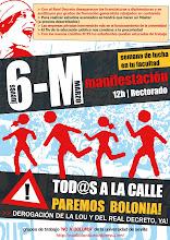 Manifestación 6 de Marzo