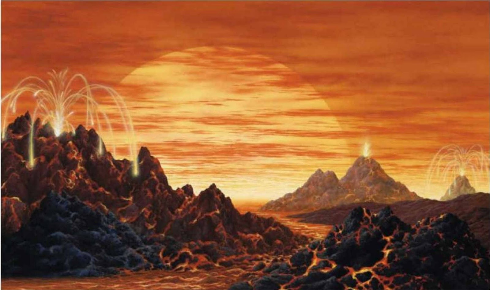 exoplanet landscape orbiting giant planet - photo #3