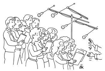 Paroisse saint cr pin les vignes chorale pour la messe du - Chorale dessin ...