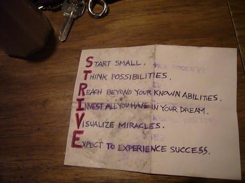 strive inspiration