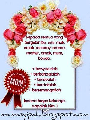 Kad Ucapan Dari Mama Syipah