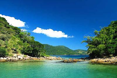 Lagoa Verde - Ilha Grande - Brasil