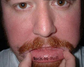 lip tattoos, tattooing