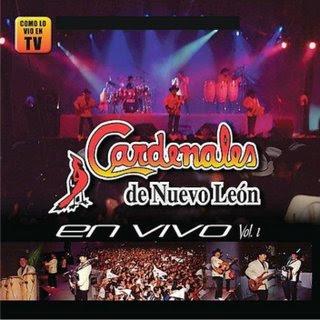 Descargar Los Cardenales de Nuevo Leon - En Vivo, Vol. 1 CD Album