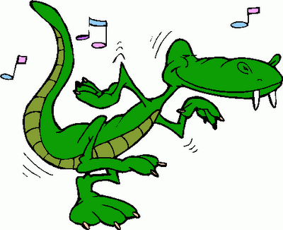 Alligator happy dance