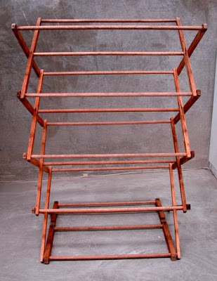 thea sami vintage clothes rack
