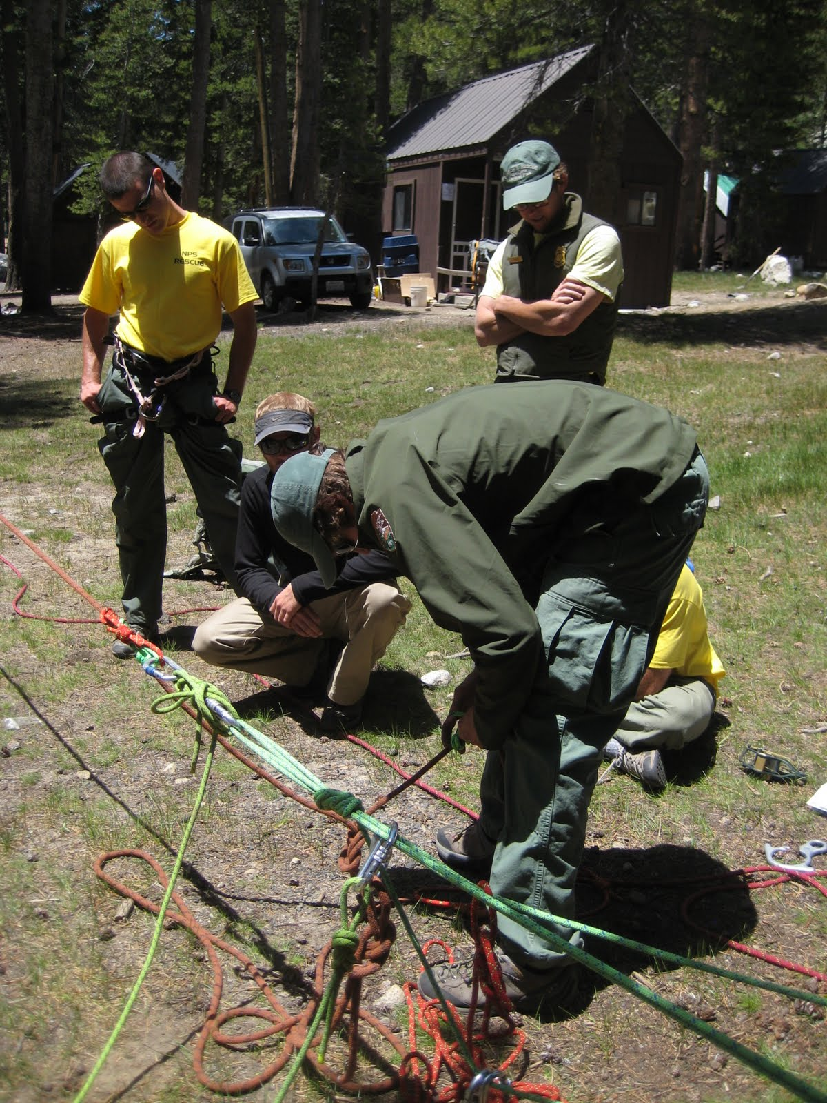 Mechanical Advantage Haul Systems http://stuffdaviddoes.blogspot.com/2010/07/yosemite-2010-rope-rescue-training.html