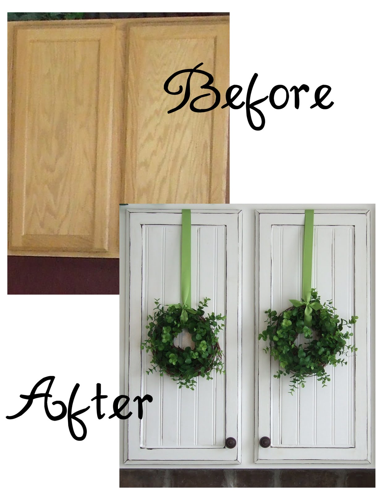 DIY Kitchen CabiDoor Makeover