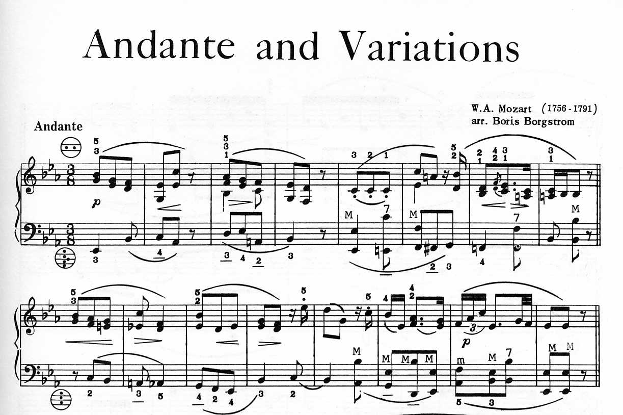 Andante in c maj k315 and rondo in d maj k184 by mozart for flute, international music company imc, flute by composer