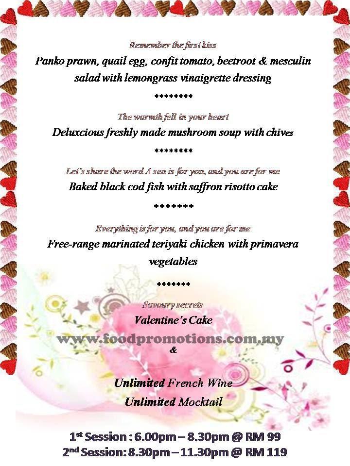 Food street deluxcious spa cuisine febulous valentine for Afghan cuisine sugar land menu