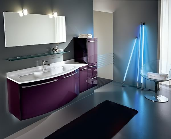 stylish luxury bathroom Elegant design and innovative technologies in the bathroom