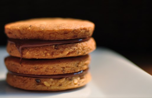 Dolcetto Confections: Chocolate Hazelnut Sandwich Cookies