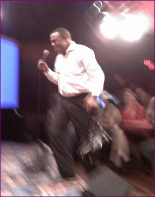 Michael Winslow onstage