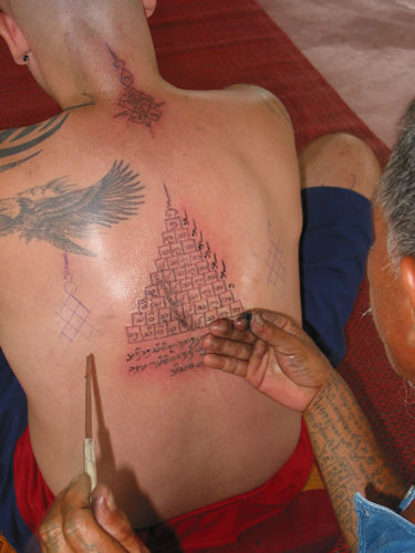 kingy design history: RAQUEL traditional thailand tattoos