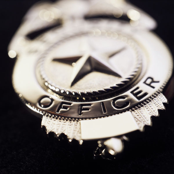 police badge for web