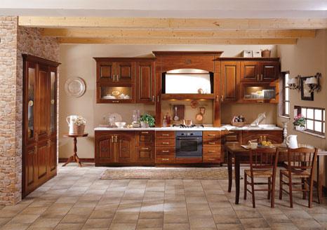 Come arredare casa arredamento cucina classica - Come arredare una casa ...