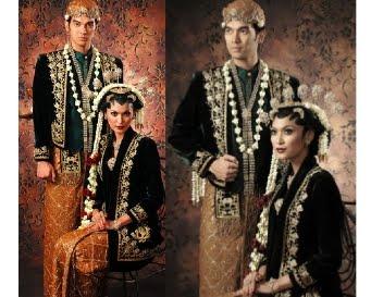 Pakaian Adat Pengantin Jawa