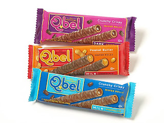 qbel chocolate wafer rolls