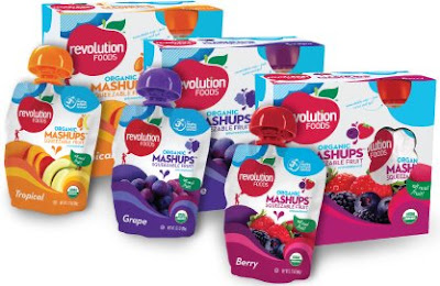 organic low calorie fruit mashups