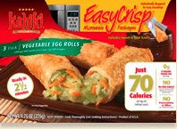 Kahiki Low Calorie Egg Rolls