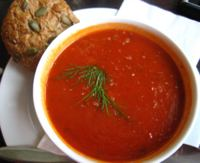 low fat tomato soup