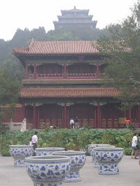 Viagem  China - Parque Jingshan