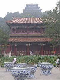 Viagem á China - Parque Jingshan
