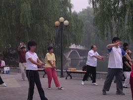 Viagem à China - Chi Kung no Parque
