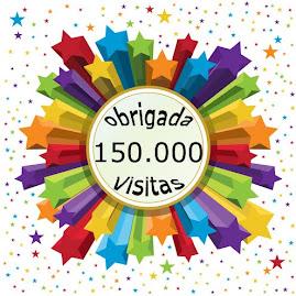 """Completaram-se 150.000 visitas ao blog """"Terapias Complementares""""."""