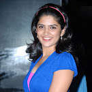 Deeksha Seth in Blue Dress Cute Pics