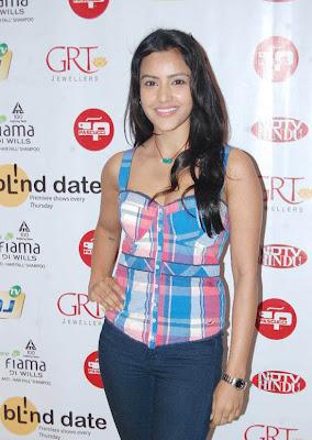 Priya Anand New Stills From Blnd date premier show sexy stills