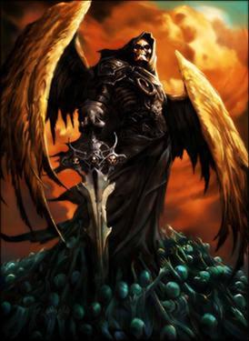 Imagenes de angeles guerreros