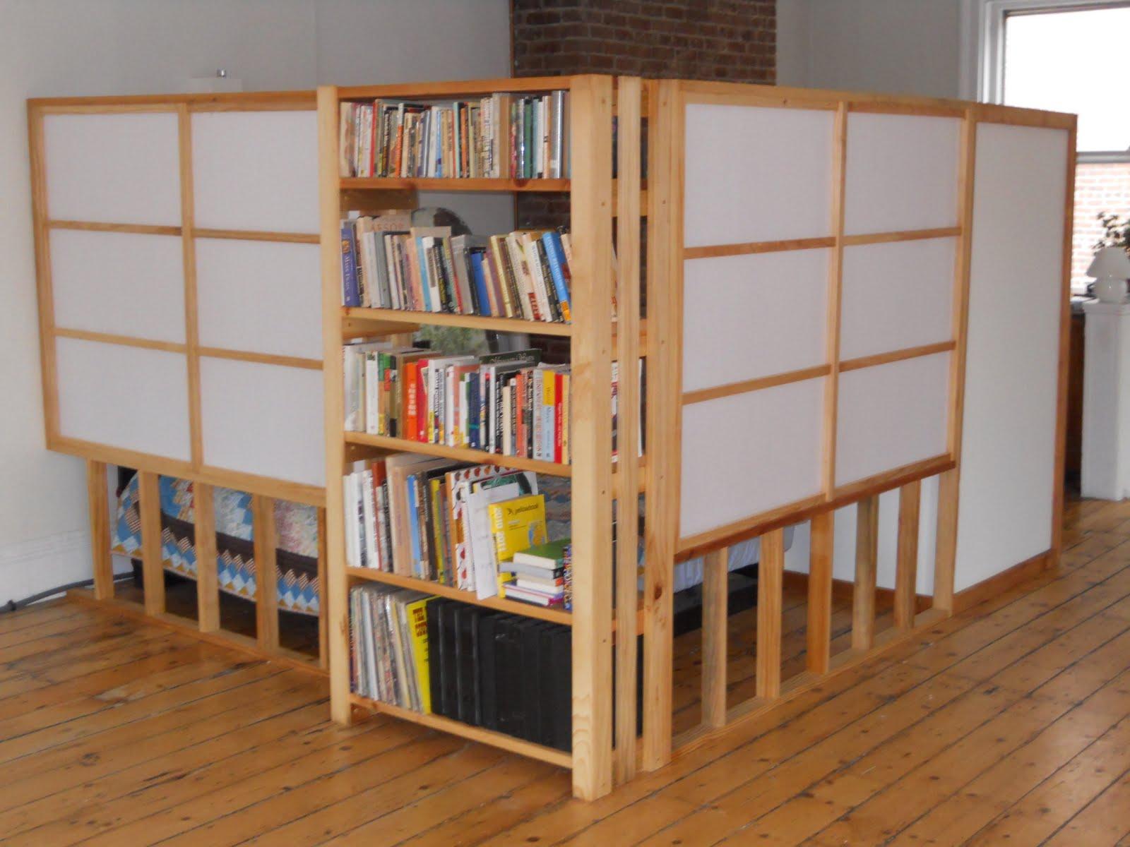 Bookshelf Room Divider Ideas