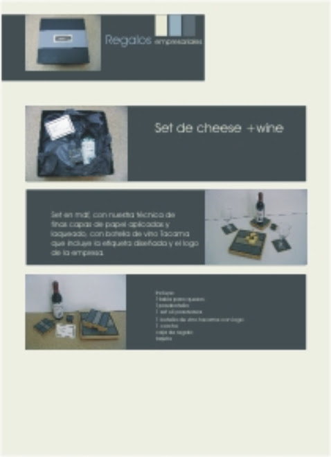 SET DE CHEESE & WINE